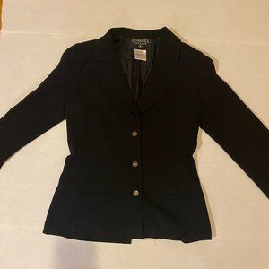 Authentic Vintage 90s Women Chanel Boutique Blazer